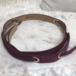 Authentic Jimmy Choo Belt ✨
